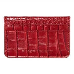 NWT B-Low the Belt red card holder